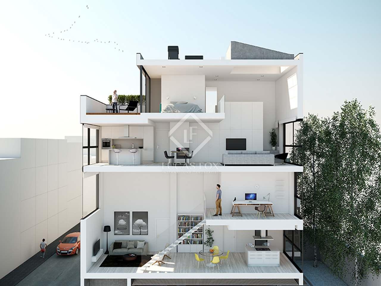 Tico d plex contempor neo en venta en tetu n madrid - Duplex en madrid ...
