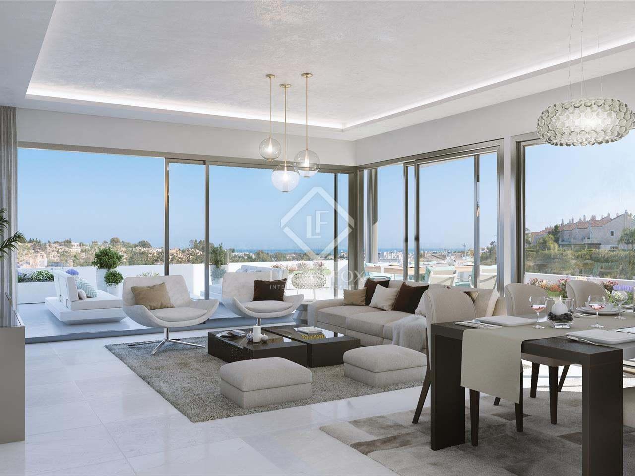 Piso de 203m con terraza en venta en la nueva milla de oro for Terrazas 1280 a