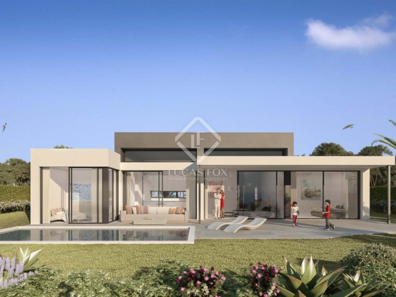 Ville moderne in vendita a estepona for Progetti villette moderne