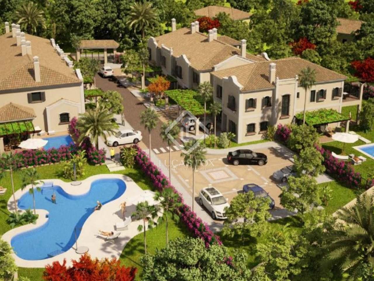 Promoci n nueva de lujo en guadalmina baja marbella - Casas de lujo en marbella ...