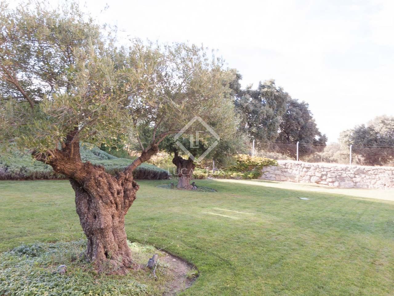 Jardines del pardo neubau in aravaca madrid lucas fox for Jardines 15 madrid