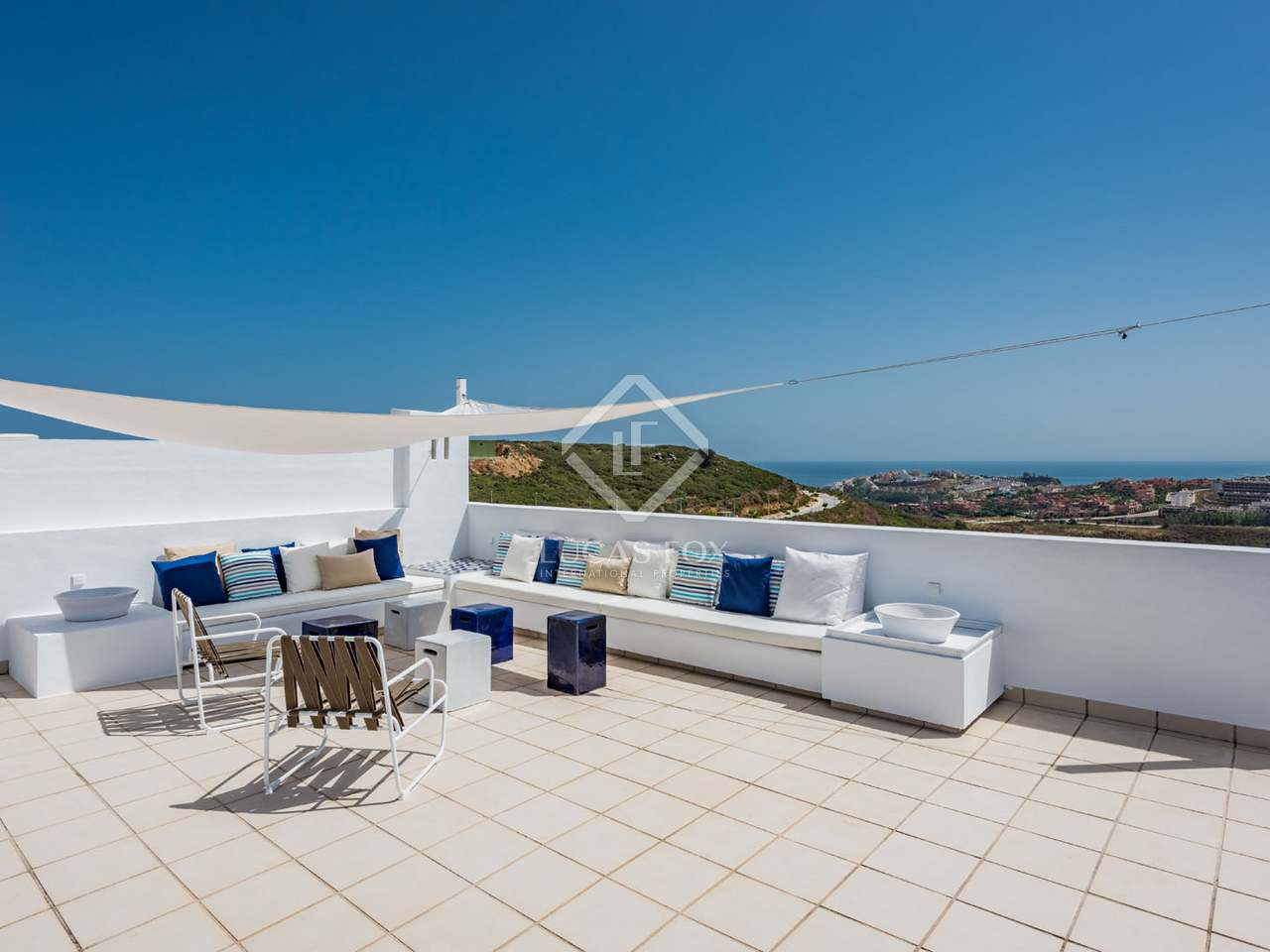 2 bedroom penthouse for sale in a new development in casares for Terrazas 1280 a