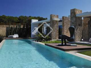New build luxury houses to purchase in Ibiza, Cala Conta