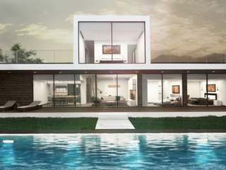 Villas con vistas al mar en venta en Estepona