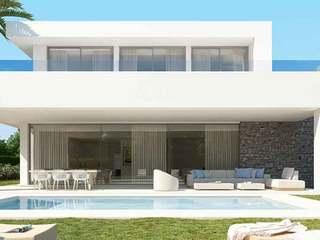 24 casas adosadas y 35 villas de lujo en venta en Río Real