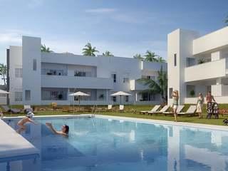 Promoción de apartamentos nuevos en venta en Nueva Andalucía