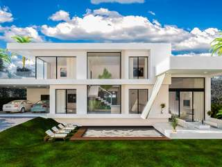Villas de promoción de obra nueva en Estepona