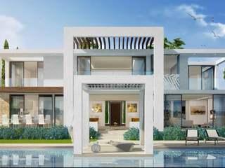 Villas de 5 dormitorios nuevas en venta en Marbella Este.
