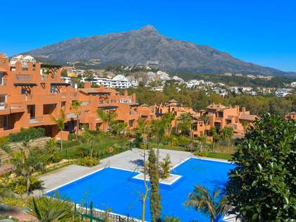 Lyxiga lägenheter till salu i Golfdalen, Marbella