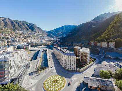 ND THE WHITE ANGEL: New development in Andorra la Vella