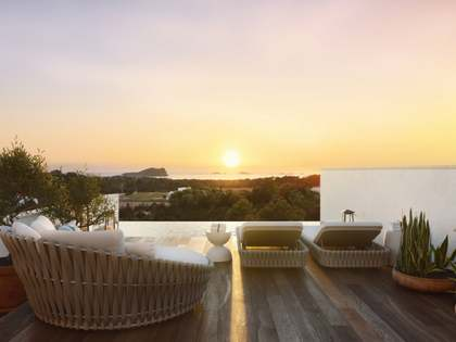 New development of 15 villas in cala Comte, Ibiza