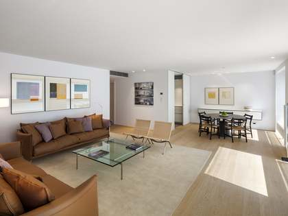 Luxury modern apartments for sale in Barcelona's Eixample