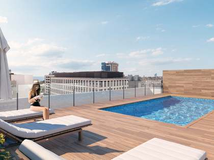 108 m² apartment with 6 m² terrace for sale in Poblenou