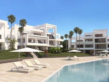 2-bedroom penthouse for sale in new Estepona development