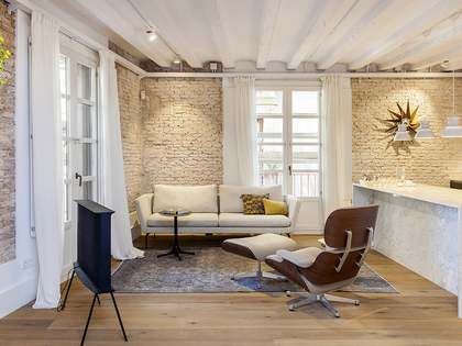巴塞罗那豪华翻新房子出售
