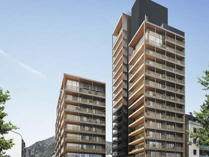 ND THEATOWER: New development in Escaldes, Andorra