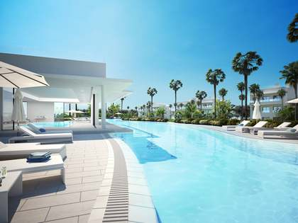 Brand new luxury beachfront development in West Marbella