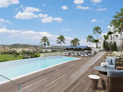 New 3-bedroom penthouse with large terraces for sale in Mijas