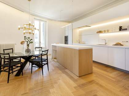 New development in Eixample Right with 2 and 3-bedroom apartments with terraces
