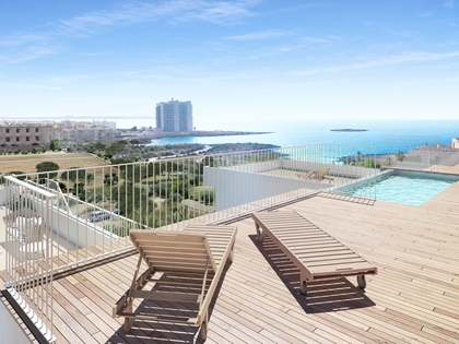Sea-facing apartments in Colonia de Sant Jordi, Mallorca