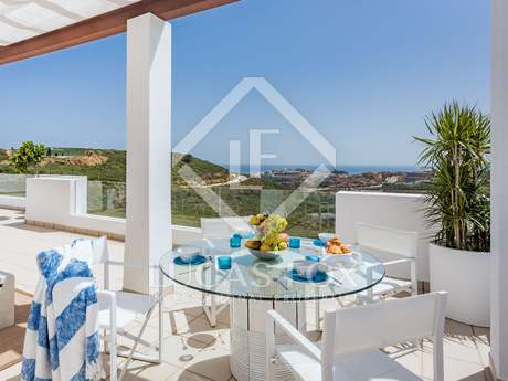 2-bedroom penthouse for sale in a new development in Casares