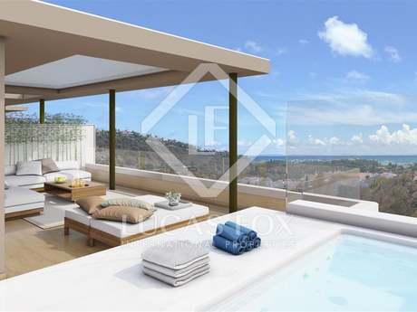 New duplex penthouse for sale in Benahavis
