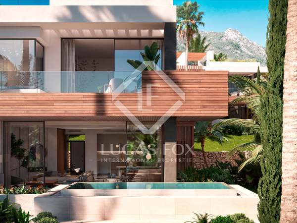 213m² House / Villa with 126m² terrace for sale in Sierra Blanca / Nagüeles