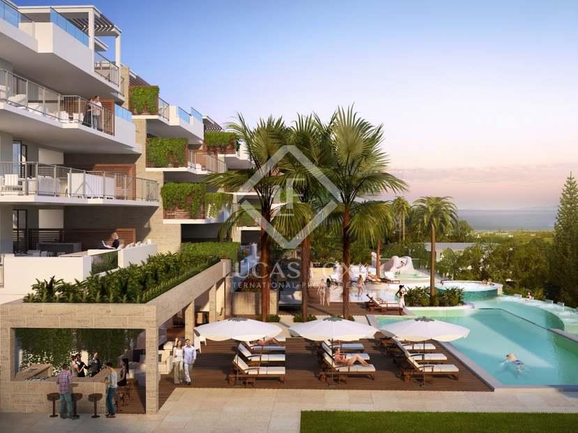 New apartments and villas for sale in La Cala de Mijas.