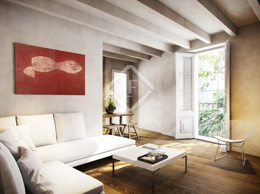 16 elegantes apartamentos en venta en el Born, Barcelona