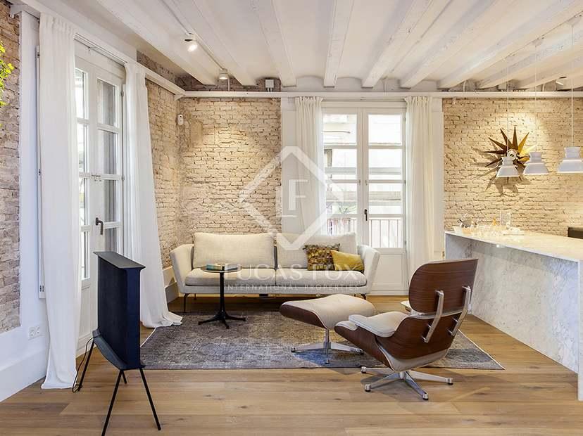 Apartamentos históricos renovados en venta en Barcelona