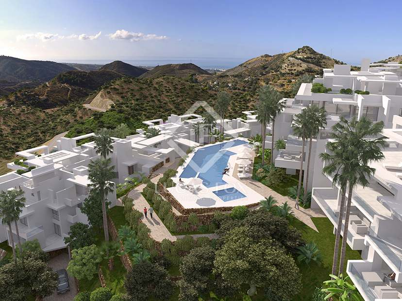 2 and 3-bedroom properties for sale in new development, Ojén