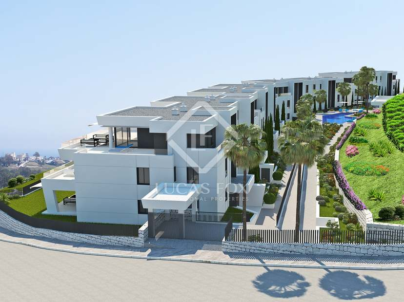 Luxury apartments to buy in the Golf Valley of Marbella