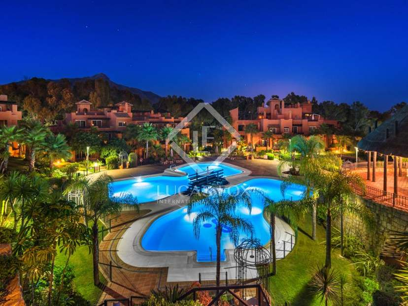 Luxury apartments for sale in the Golf Valley, Marbella