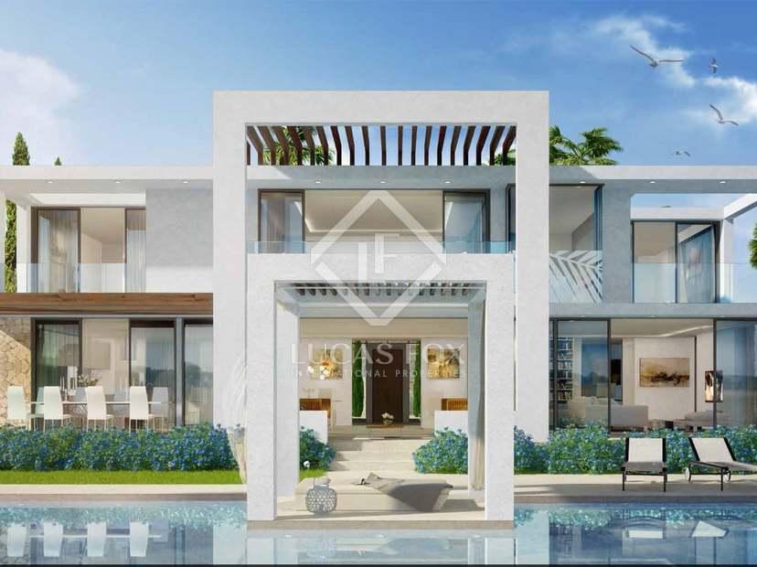 Brand new modern 5-bedroom villas for sale in East Marbella