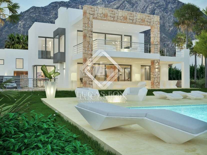 19 luxury villas for sale in Nueva Andalucía, Marbella