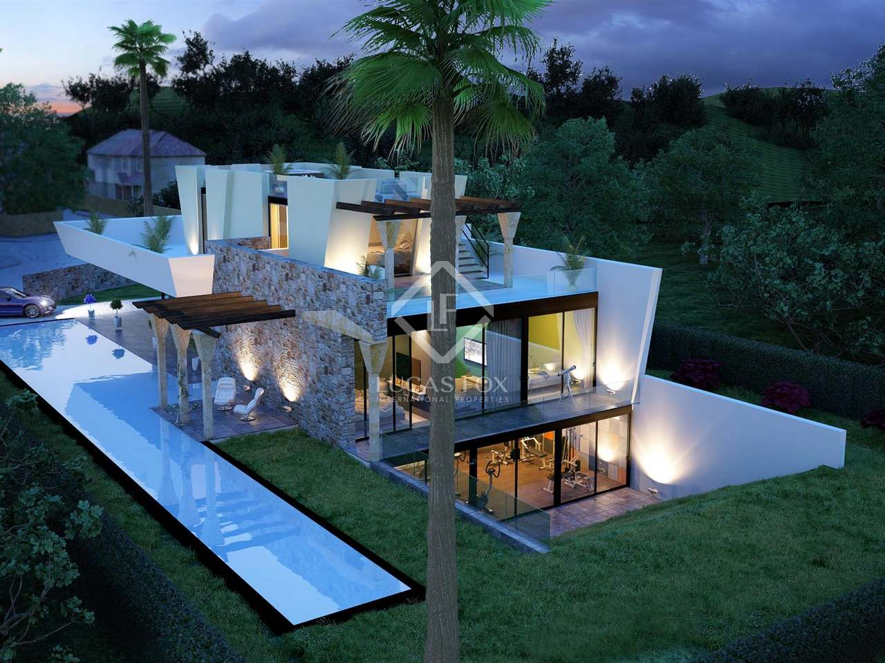 Very modern 4 bedroom villa for sale in nueva andalucia for Very modern houses for sale