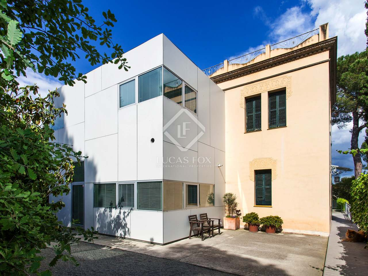 maison villa de 250m a vendre sant cugat barcelone. Black Bedroom Furniture Sets. Home Design Ideas