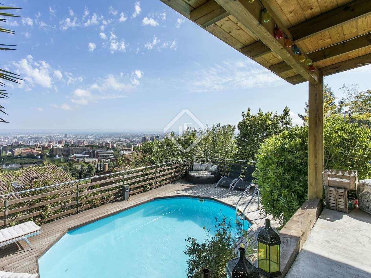 425m house for sale in esplugues barcelona for Barcelona pool garden 4