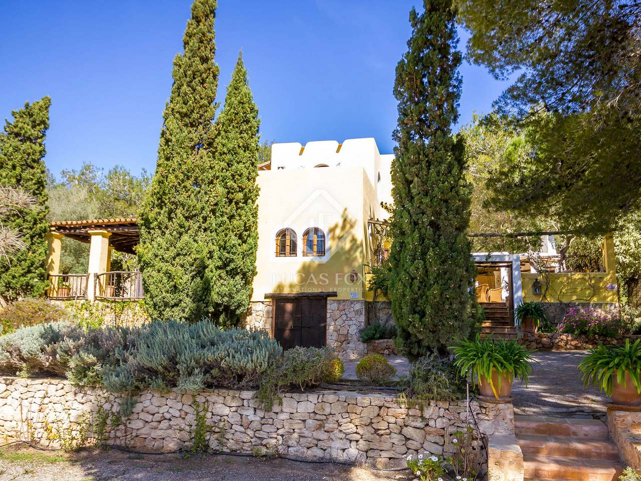 Wonderful house for sale in a quiet area of san jos ibiza for Wonderful house