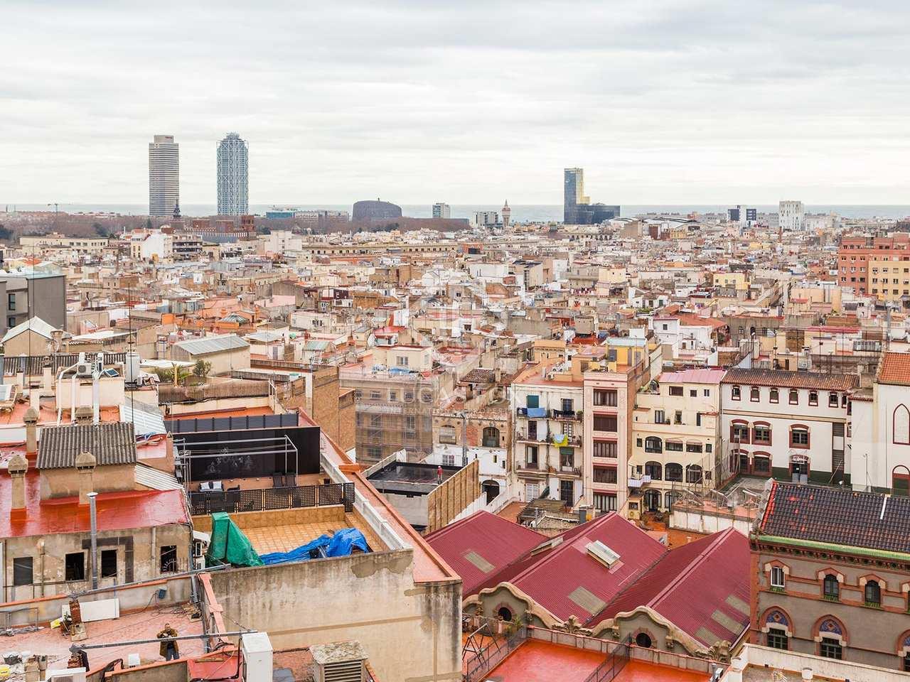 Apartamento estilo loft sin amueblar en alquiler en el eixample barcelona - Apartamentos en alquiler barcelona ...