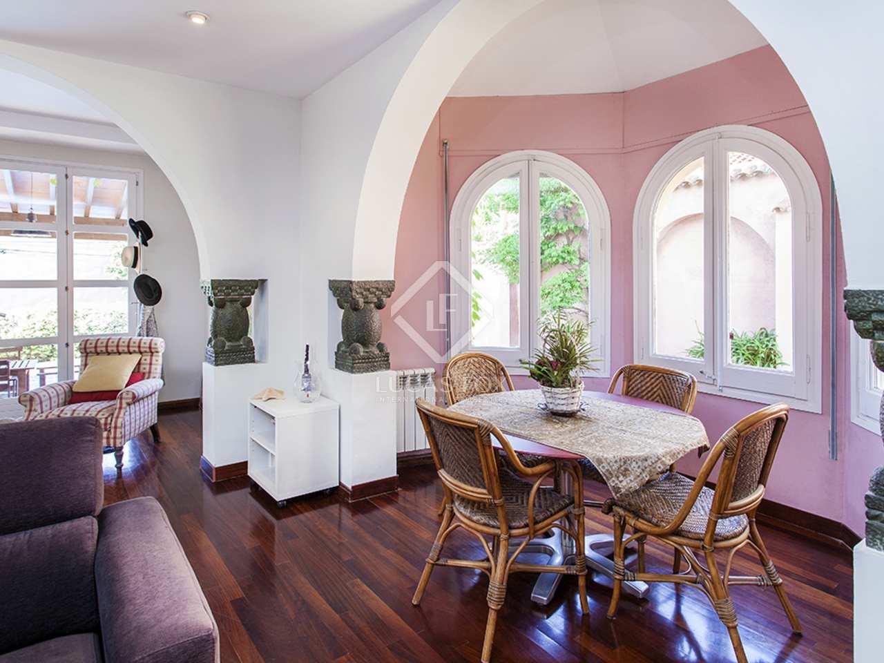 maison villa de 231m a vendre sant cugat barcelone. Black Bedroom Furniture Sets. Home Design Ideas