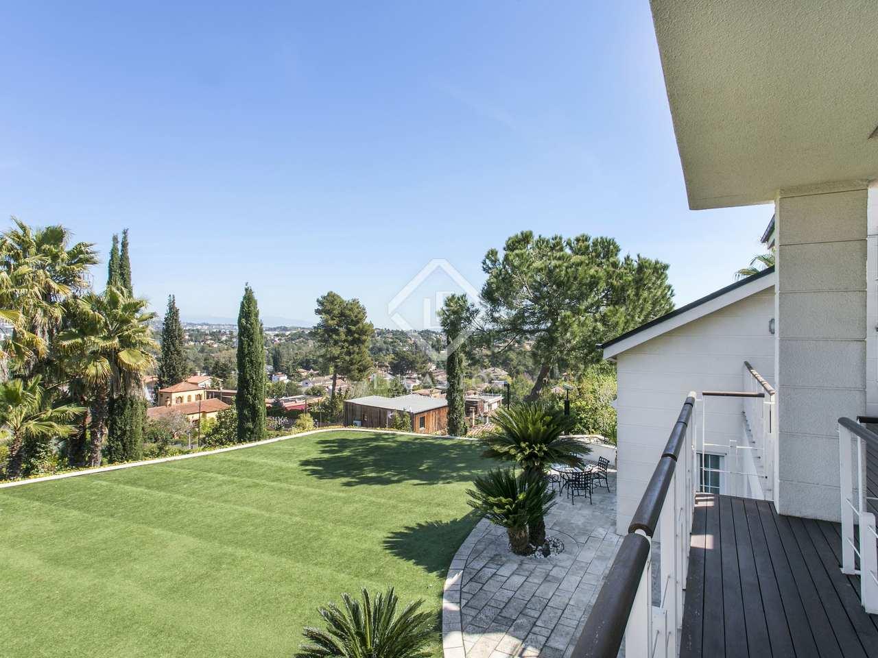 5 Bedroom House For Rent In Sant Cugat Barcelona