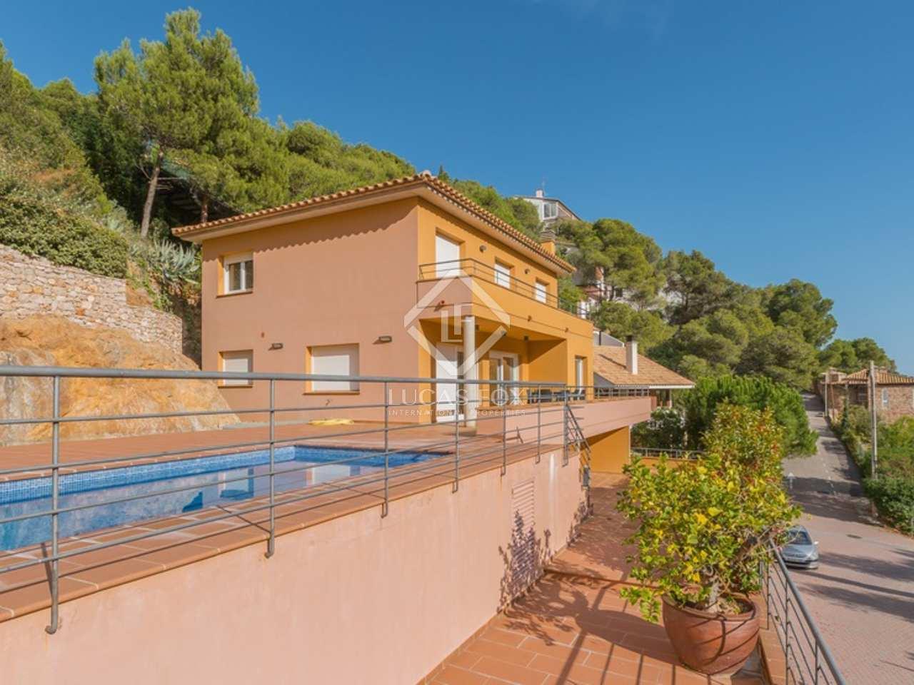 300m haus villa mit 920m garten zum verkauf in sa riera sa tuna. Black Bedroom Furniture Sets. Home Design Ideas