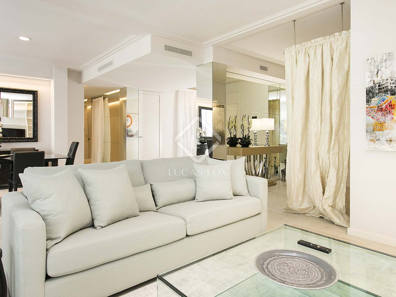 arrange small bedroom 167m 178 apartment with terrace for rent sant gervasi galvany 10093