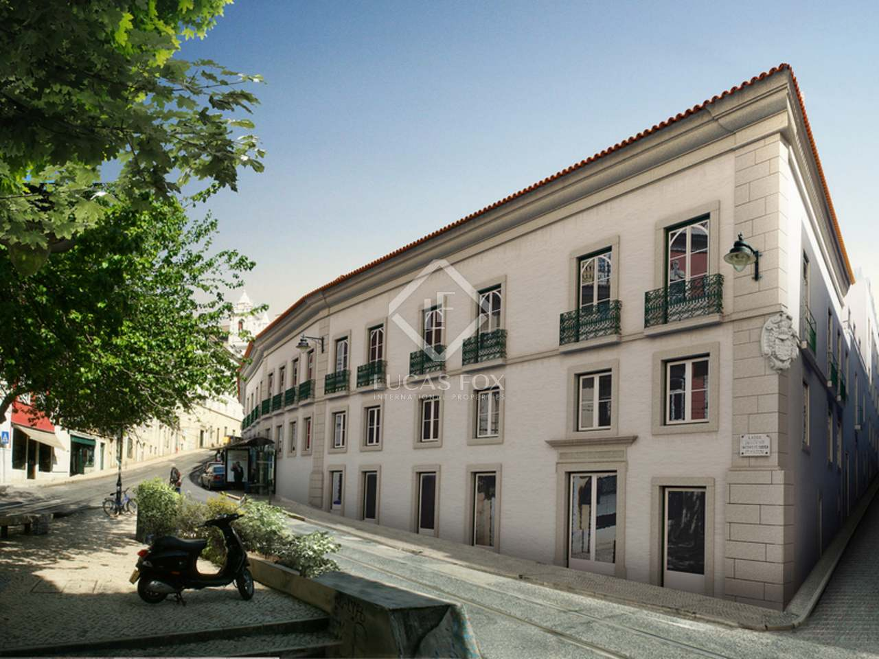 2-bedroom apartments for sale in Lisbon in an historic palace