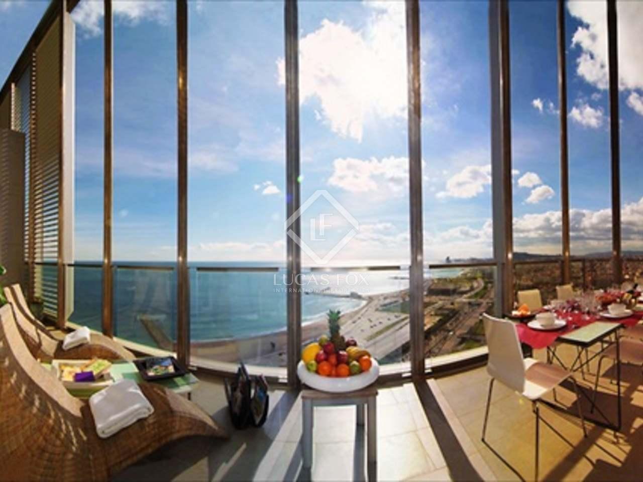 Luxueux appartement louer diagonal mar barcelone - Location appartement meuble bruxelles court terme ...