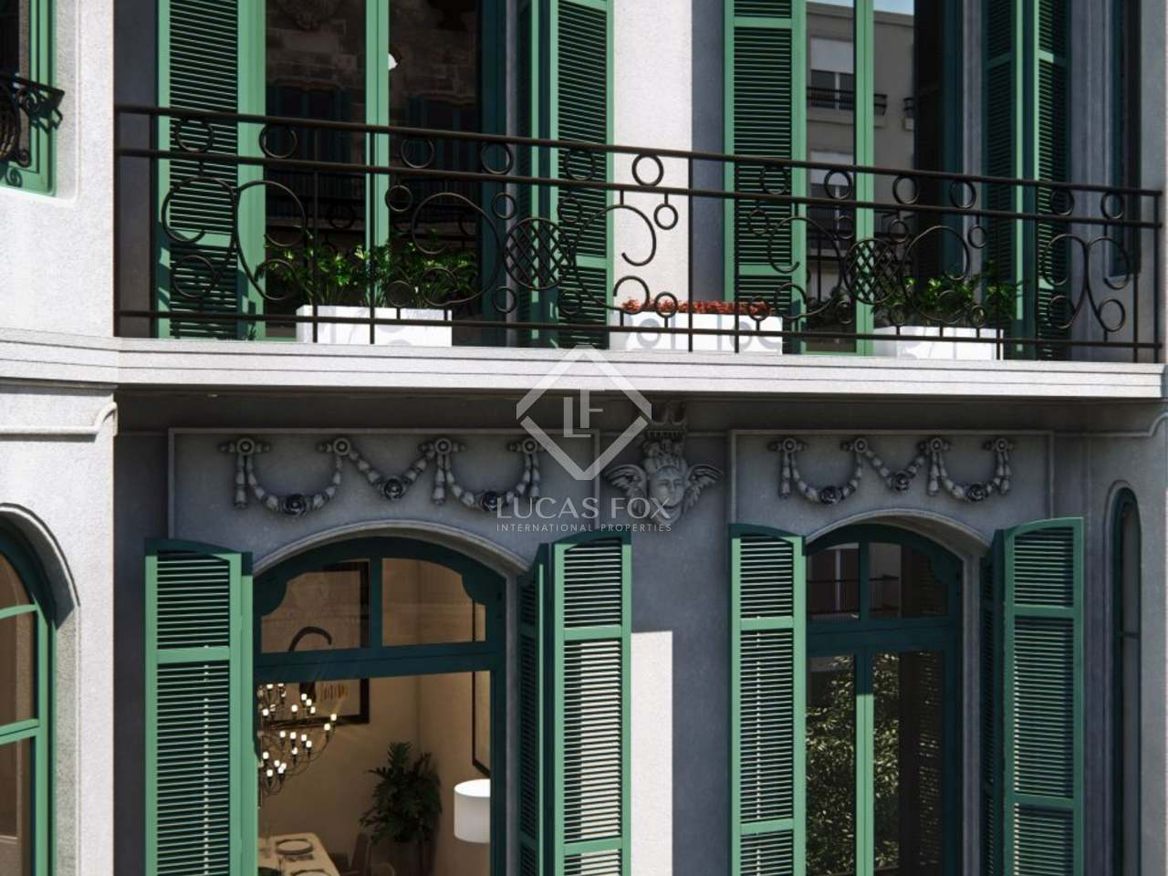 Penthouse for sale on calle casp barcelona 39 s eixample area - Calle casp barcelona ...