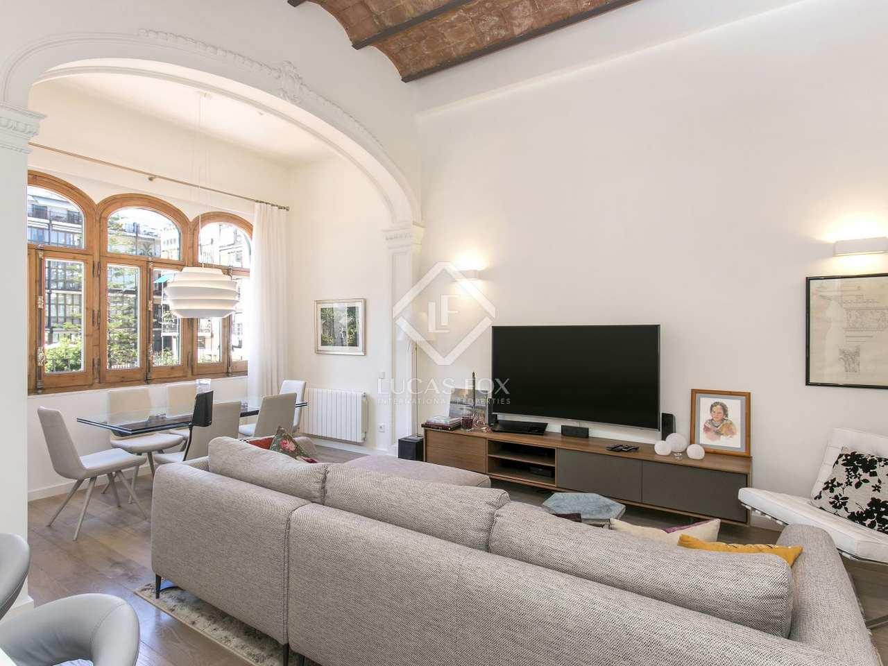 Apartamento renovado en venta en la calle casp barcelona - Calle casp barcelona ...