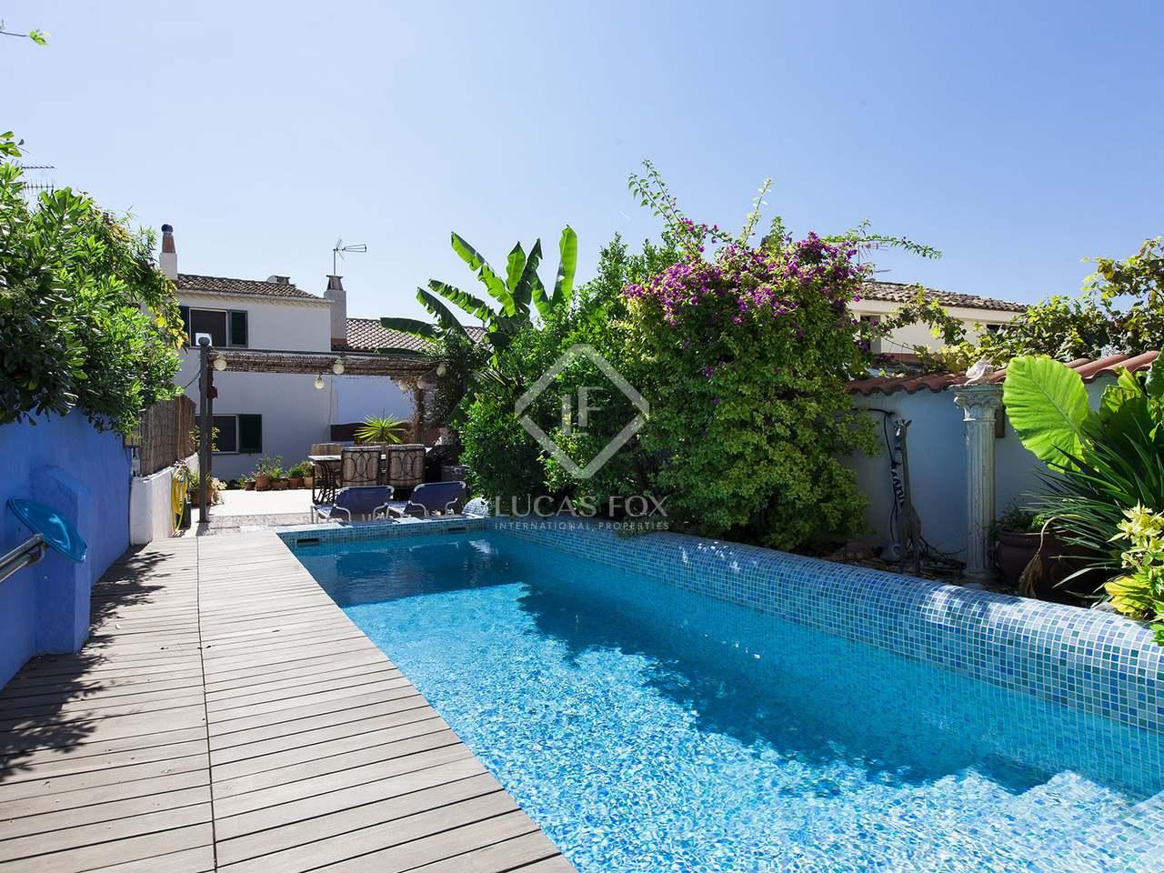 Casa preciosa en venta en sant pere de ribes cerca de sitges for Piscina sitges