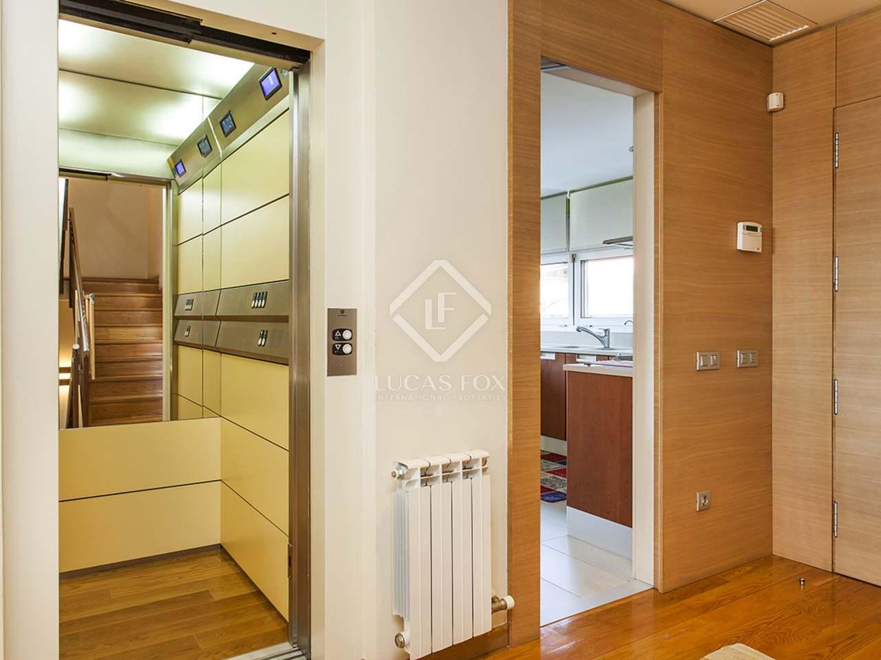 Casa adosada de lujo en alquiler en la zona alta de barcelona - Zona alta barcelona ...